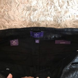 NYDJ Jeans - NYDJ | Skinny Black Ornate Paisley Print Jeans